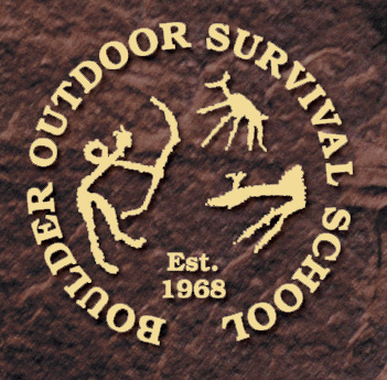 Boulder Outdoor Survivial School logo